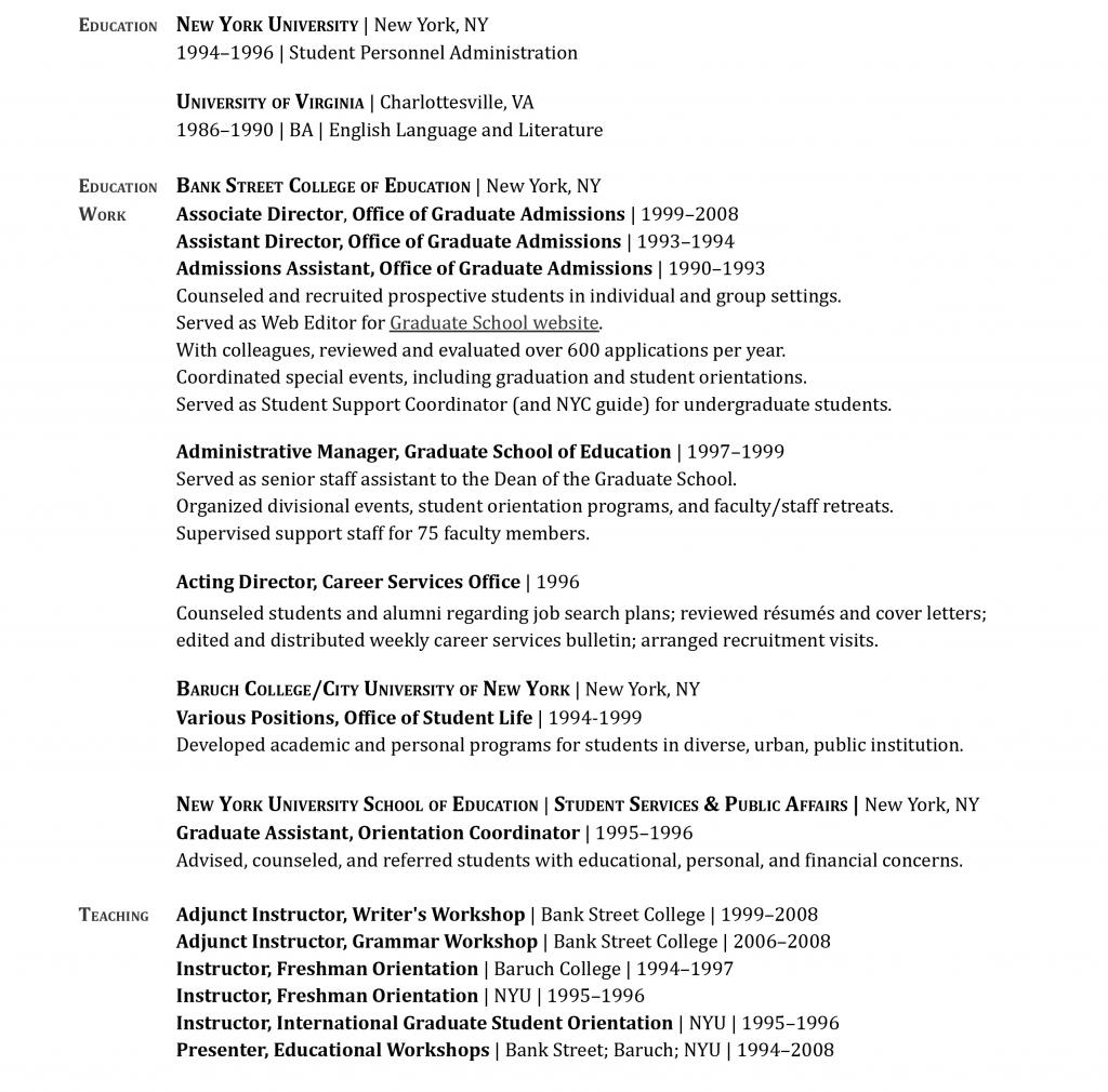 Kristin McCracken Résumé 2021-3