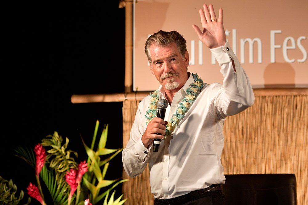 pierce brosnan maui